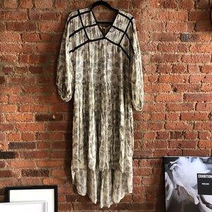 Zara flowy maxi dress